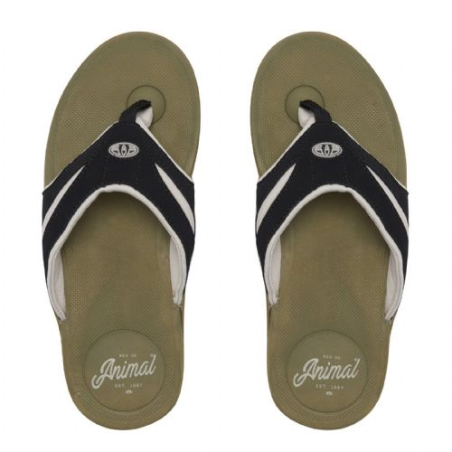 51e2b5d28d9 ANIMAL MENS FLIP FLOPS.FADER SOFT TOE POST HARD SOLE THONGS SANDALS 8S 12  P39 .